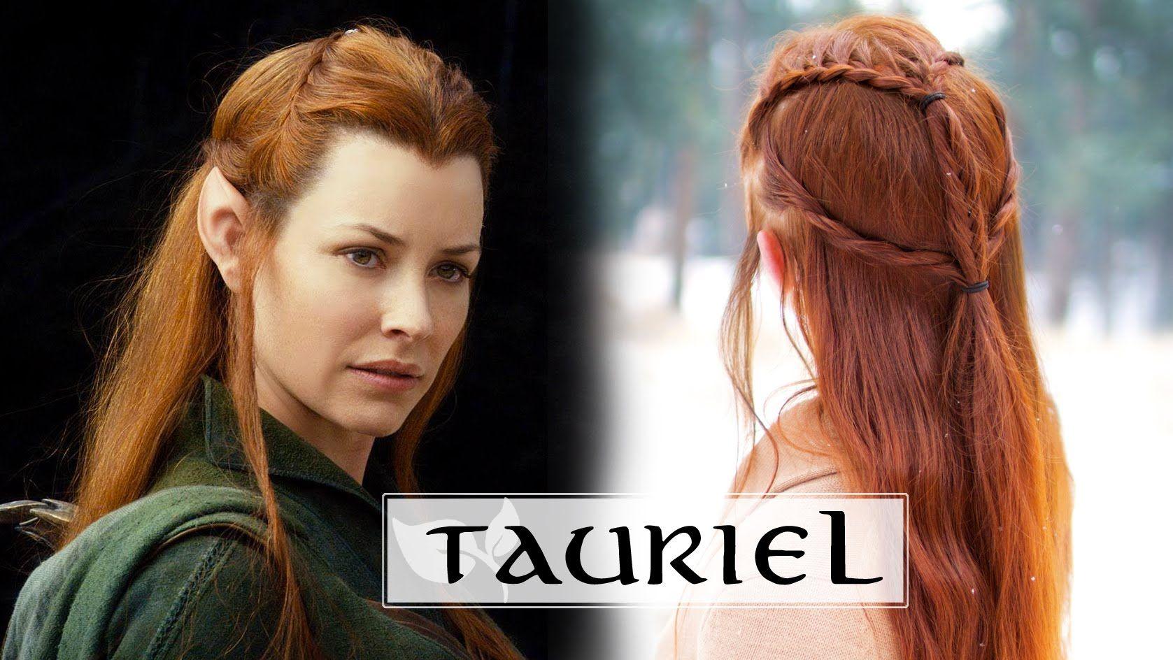 The Hobbit Hair Tutorial - Tauriel