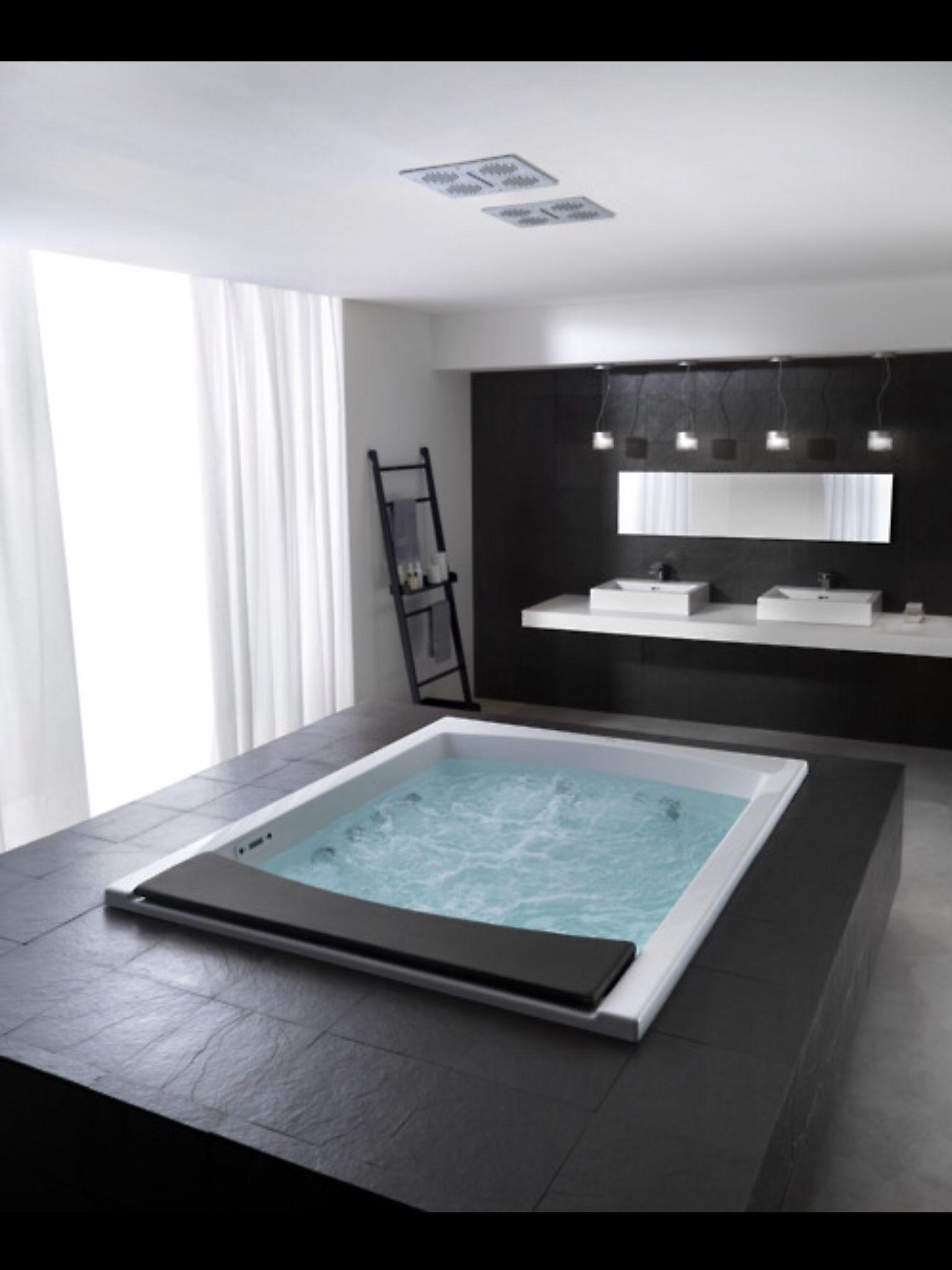 Indoor Hot Tub Dream Bathrooms Home Dream House