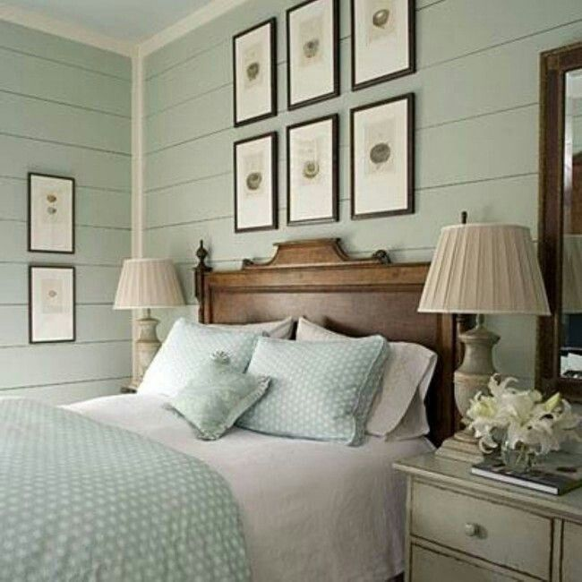 Peaceful Bedroom Colors And Decorating Ideas: Pin By Karla K. McGrew On Home & Furniture