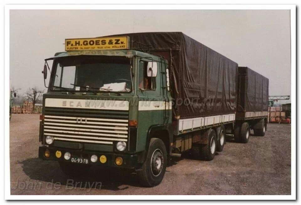 Scania. COMBINATIE. H Goes De Meern