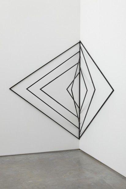 Wall Art Ideas Design  Inspirational Black Geometric Wall