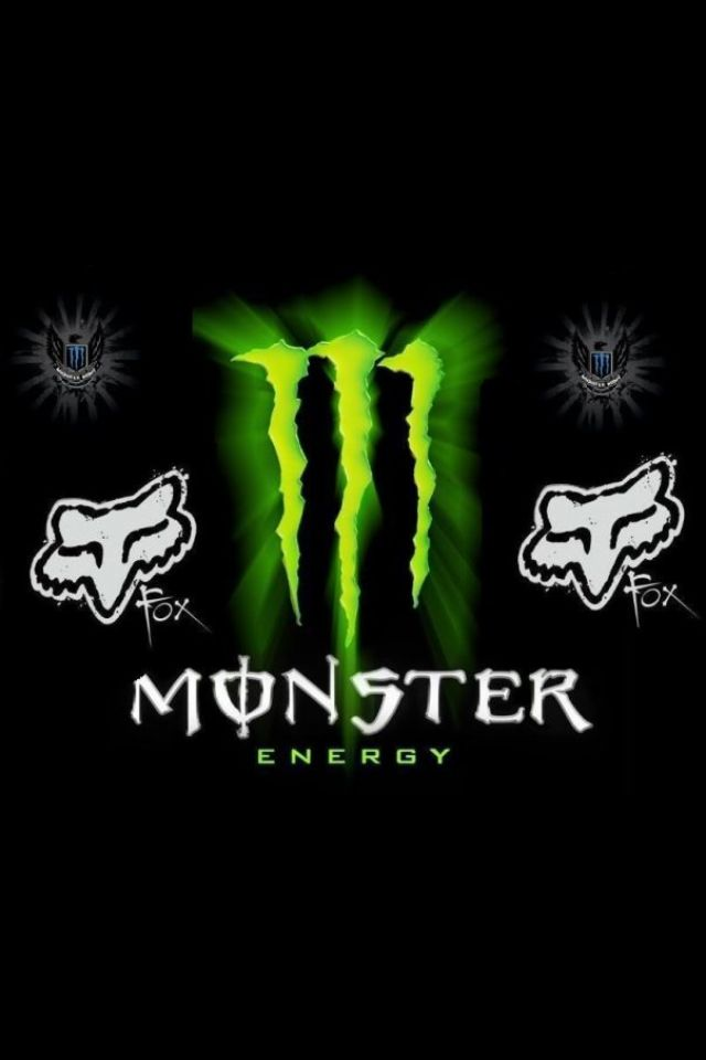 Monster energy monster energy monster energy - Fox and monster logo ...