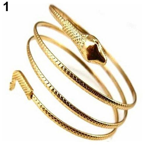 Hot-Trendy-Coiled-Snake-Spiral-Upper-Arm-Cuff-Armlet-Armband-Bangle-Bracelet