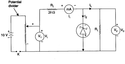#zenerdiode circuit, which is used as shunt regulator or voltage regulator   #electronicprojects #elprocus #electricalprojects