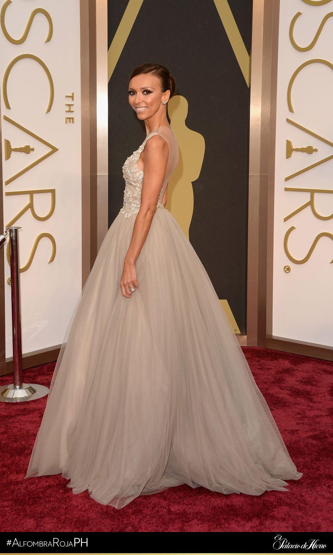 Giuliana rancic 2014 oscars paolo sebastian dress - Giuliana Rancic Paolo Sebastian El Palacio De Hierro Oscars 2014 Alfombrarojaph