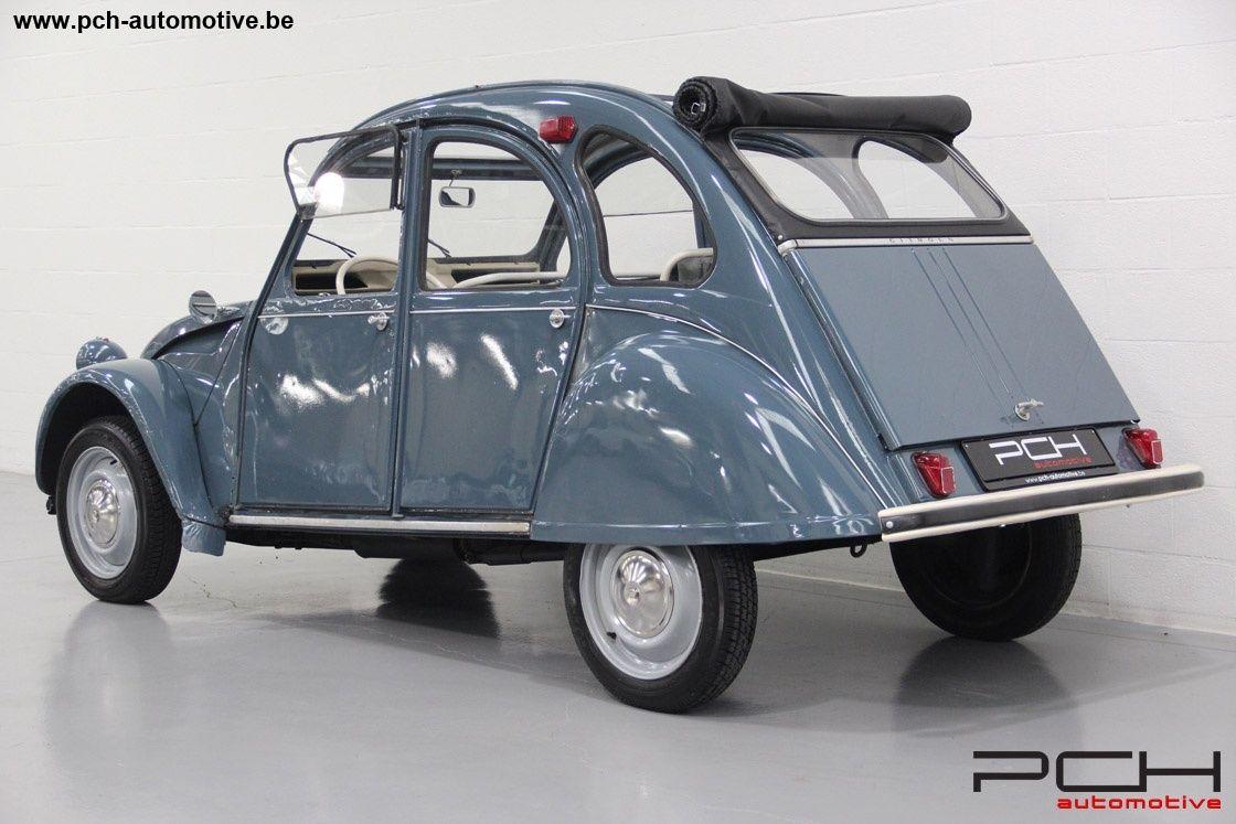 1965 Citroen 2cv Azam No Rust Non Welded Chassis Perfect Mechanics Classic Driver Market 2cv Citroen 2cv Quatre Roues