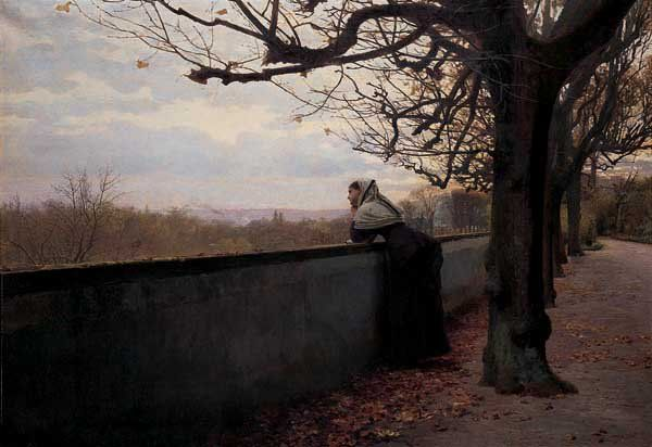 Louis Emile Adan ~ Autumn Evening ~ (French: 1839-1937) | Adan ...