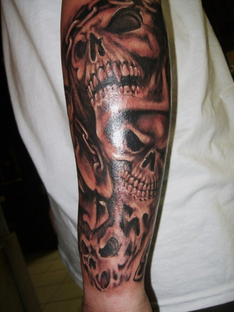Best Skull Tattoos For Men Tattoo Inspiration Sleeve Tattoos