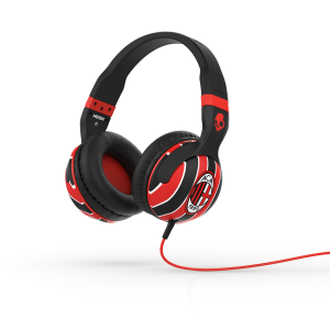Fab Phones, Tablets and Accessories is a simple as one two Three! Hesh 2.0 Over-Ear Headphones with Mic AC Milan Black/Red/Red - from Three Accessories