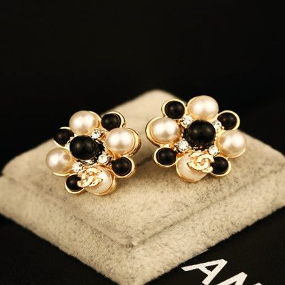 Pearl 18K Gold Plated Earrings