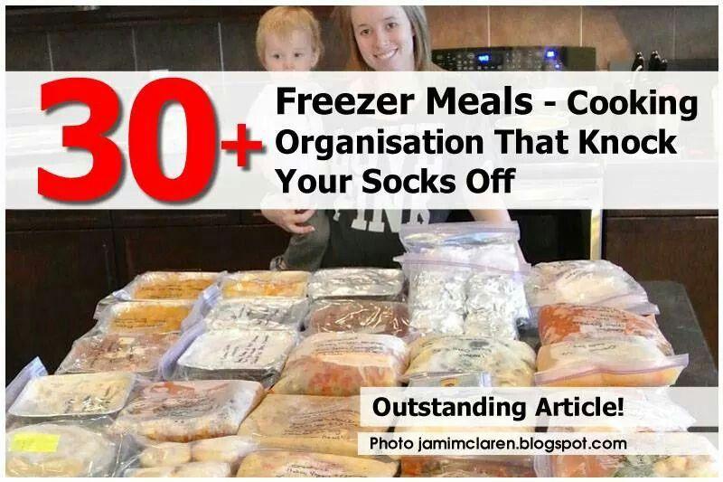30+ freezer meals