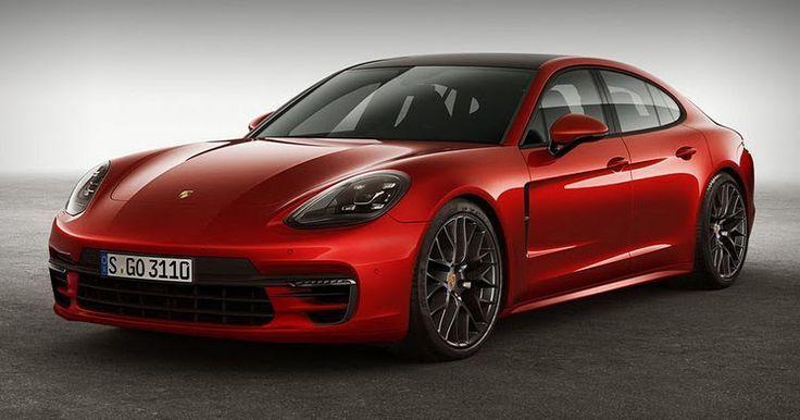Nice Porsche Cool 2017 Panamera Gts Render Keeps Things Sporty Por Cars