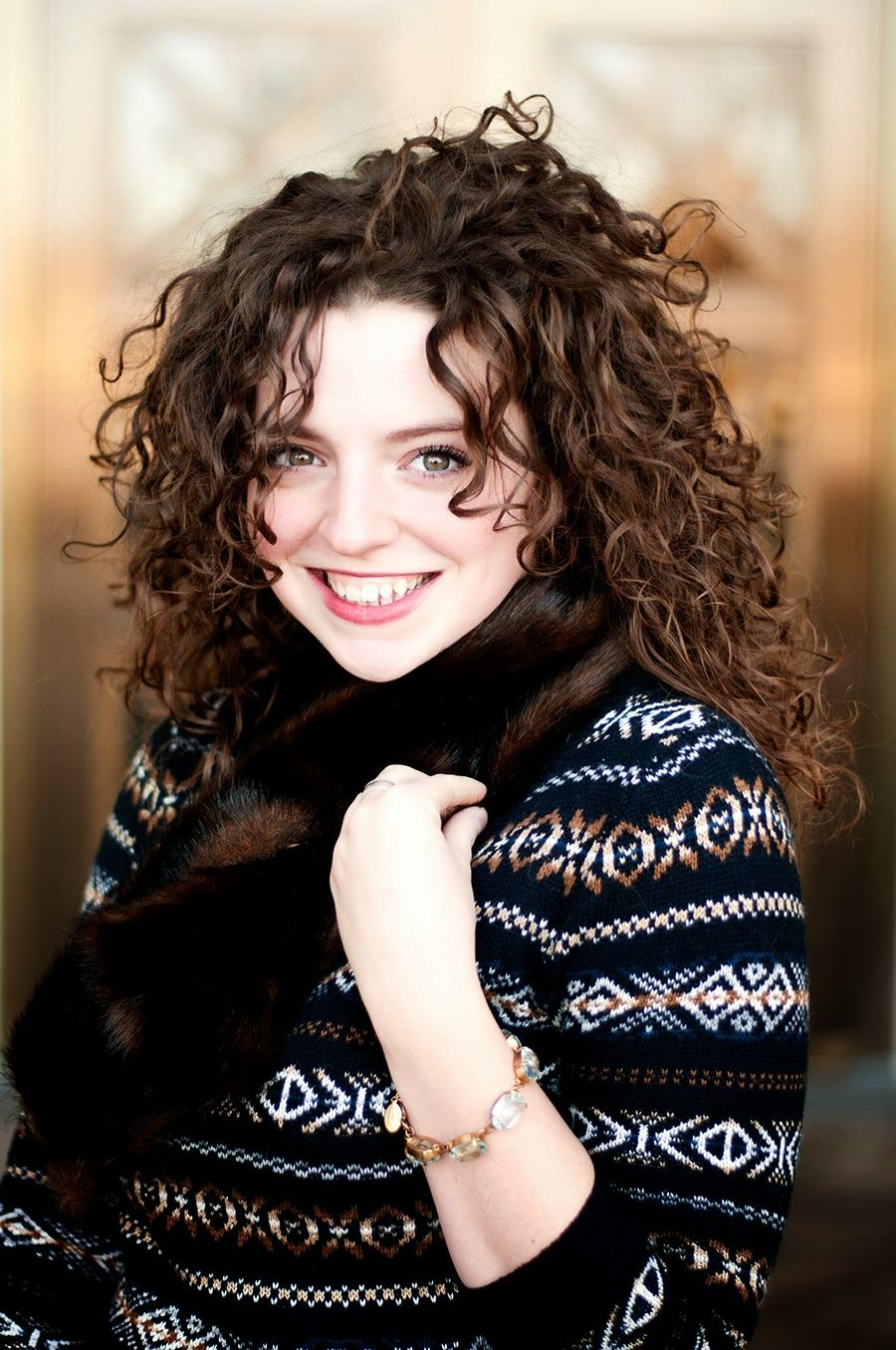 Winter Glam  Pinterest  Naturally curly hair Naturally curly and