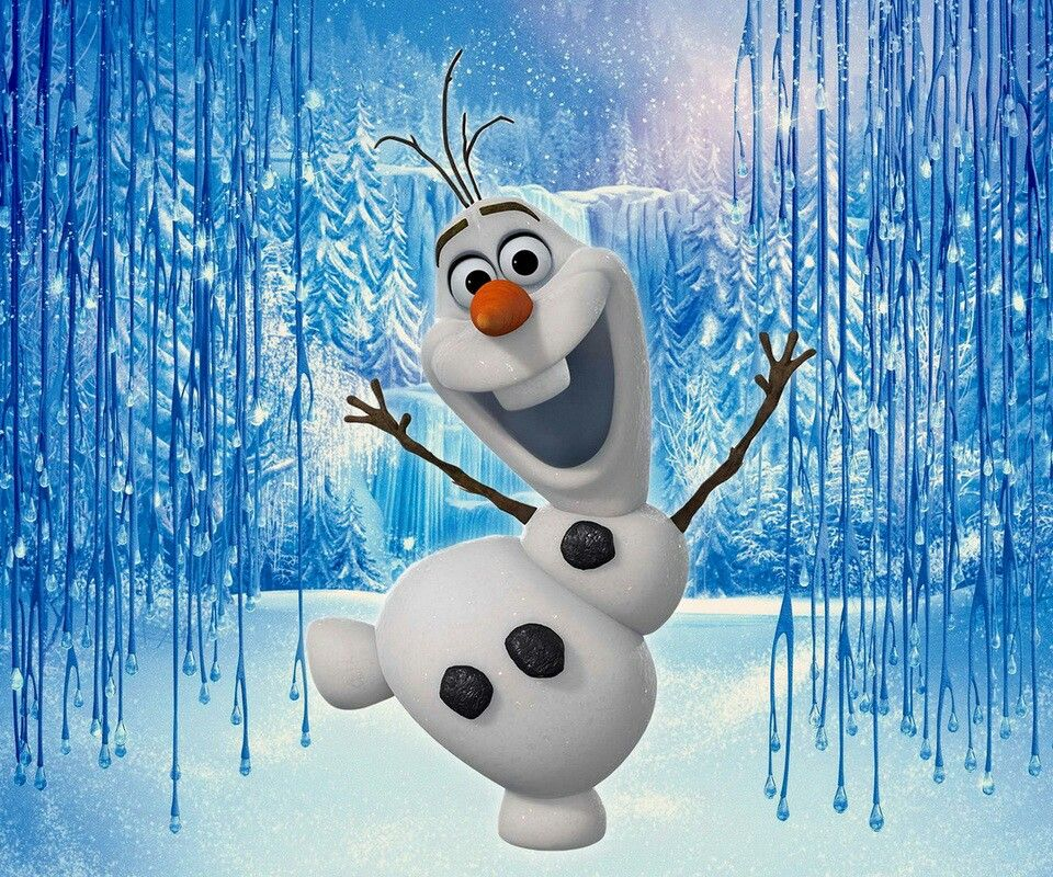 Photo of Olaf the snowman