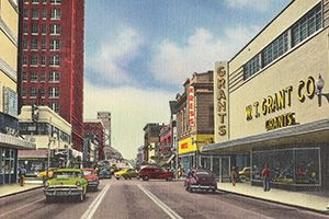 Image: Joe Archie via WikipediaShopping today is almost nothing like it used to be. Strip malls are bare, shopping malls are disappearing and some of our most trusted department stores are going under. The convenience of online shopping and big box retailers has dramatically changed the way we run errands and hunt for bargains.Here's a look back at a simpler time, when everything could be found at good ol' discount retailers like Zayre and Ames. These stores weren't the most luxurious, but…