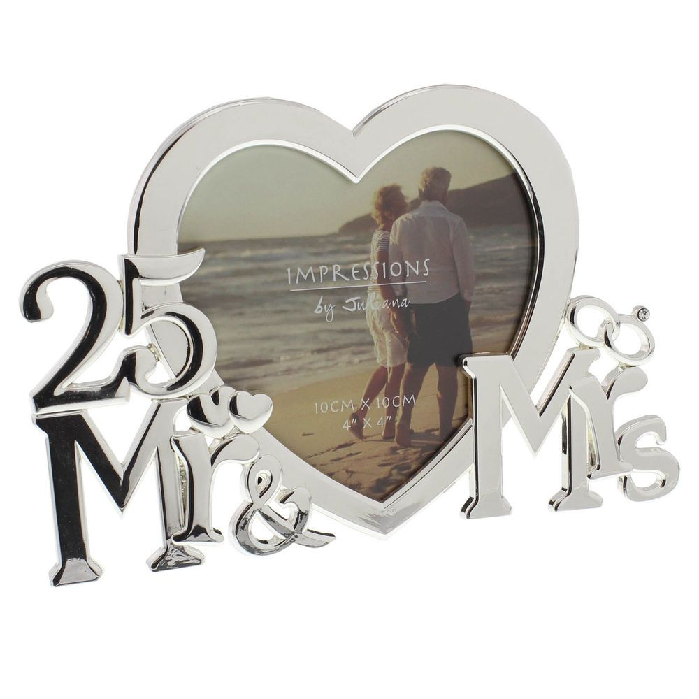 Choosing An Interesting And Inexpensive 25th Wedding Anniversary Gift A Silver Wedding Anniversary Is Of Course A Very Special Occassion For Anniversary Frame
