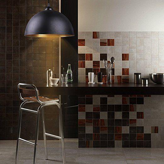 BAYTTER® Design 2x Industrielle Vintage LED Pendelleuchte - bar fürs wohnzimmer
