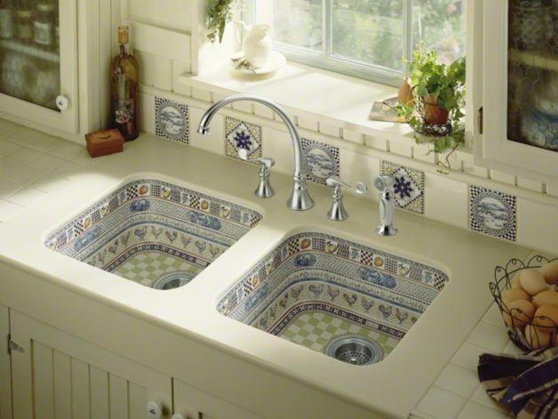 Kohler Hand Painted Rooster Sink Like The Idea But Not