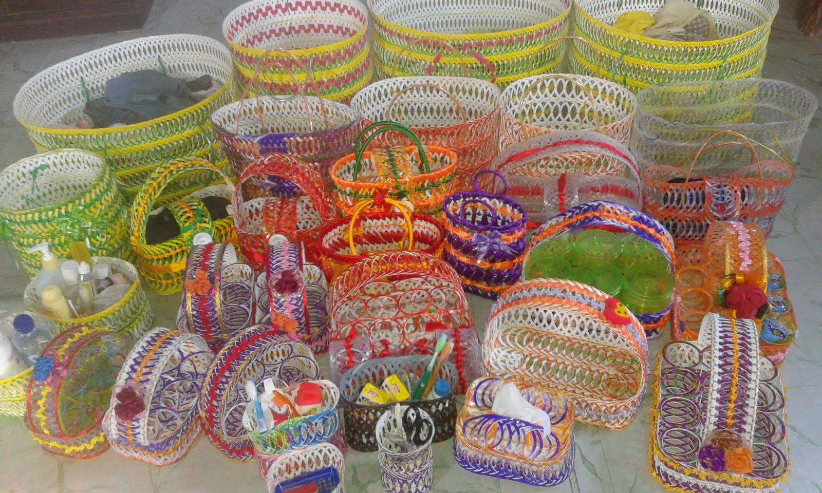 Membuat Kerajinan Tangan Dari Gelas Plastik Bunga Kertas