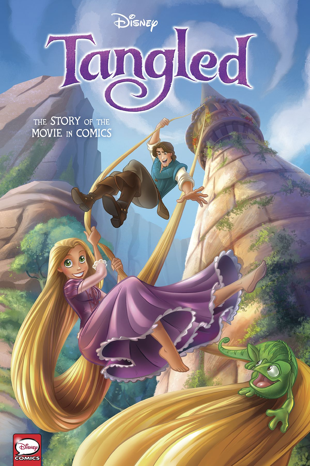Disney Tangled The Story of the Movie in Comics in 2020