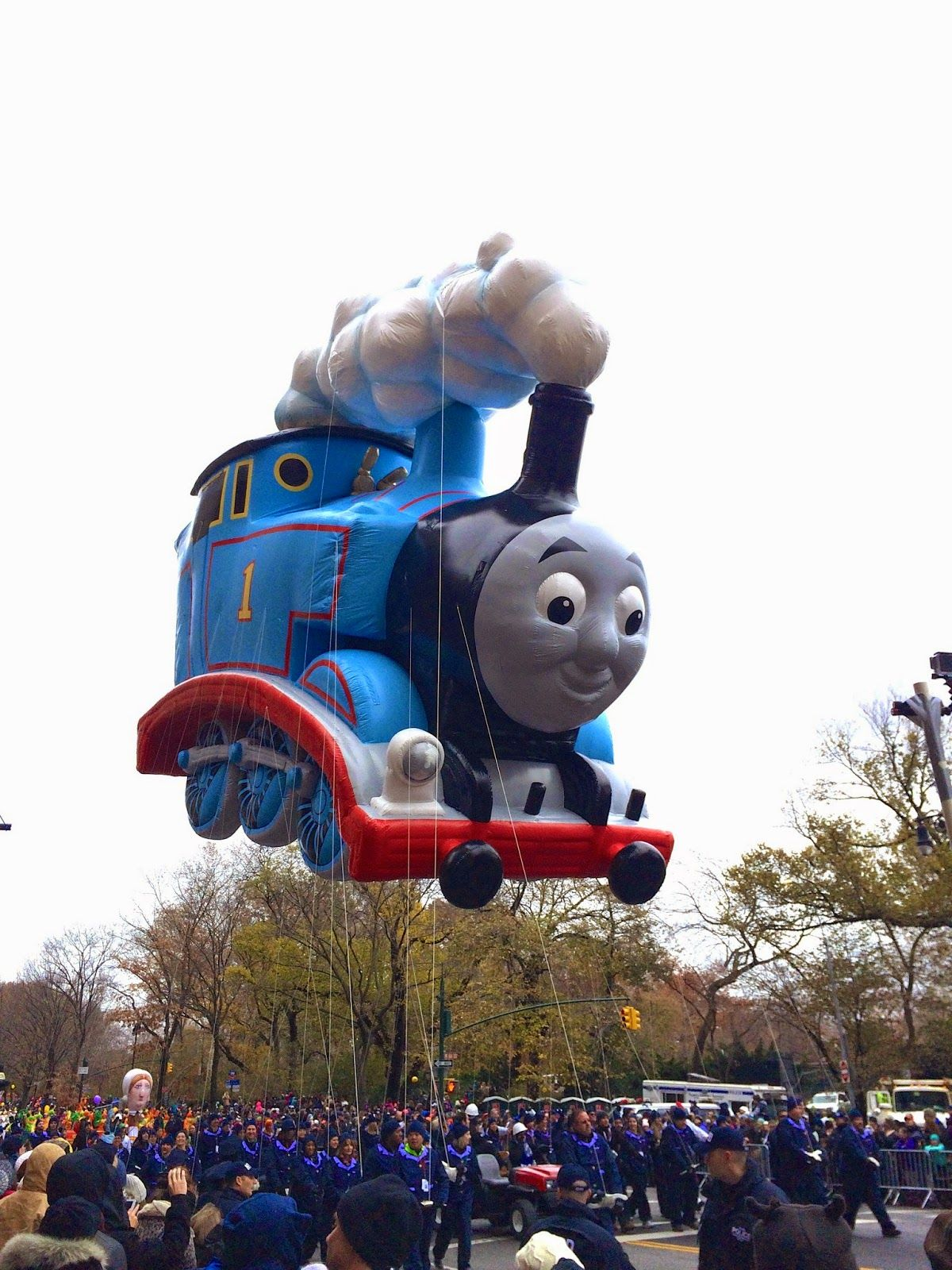 Thomas The Tank Engine At The 88th Annual Macy S Thanksgiving Day Parade In New York Ci Thanksgiving Day Parade Thanksgiving Day Macy S Thanksgiving Day Parade