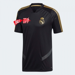 Real Madrid 19 20 Wholesale Black Cheap Soccer Training Shirt Sale Cheap Jersey Real Madrid 19 20 Wholesale Black Cheap Socc Real Madrid Training Shirts Soccer