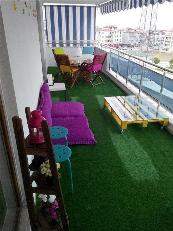 Real-Like Artificial Grass For Balcony Floors - Unique ...
