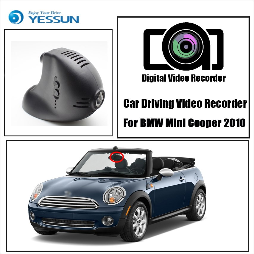 Dash Cam For Bmw Mini Cooper 2010 2011 2012 2013 Best Price Oempartscar Com Dashcam Car Wifi Mini Cooper