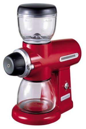Kitchenaid Artisan Burr Coffee Grinder Red Amazoncouk
