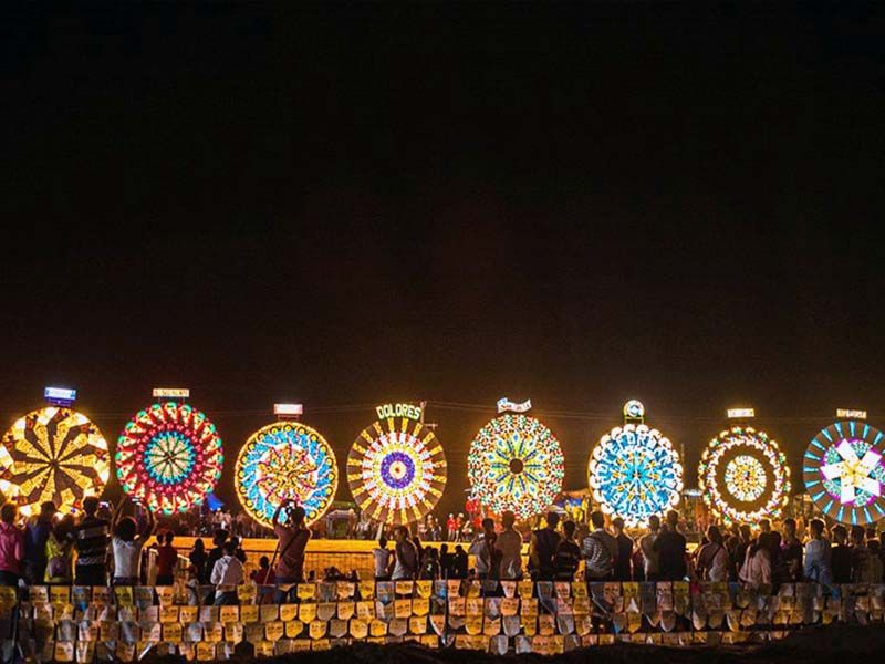 Image result for giant lantern festival philippines