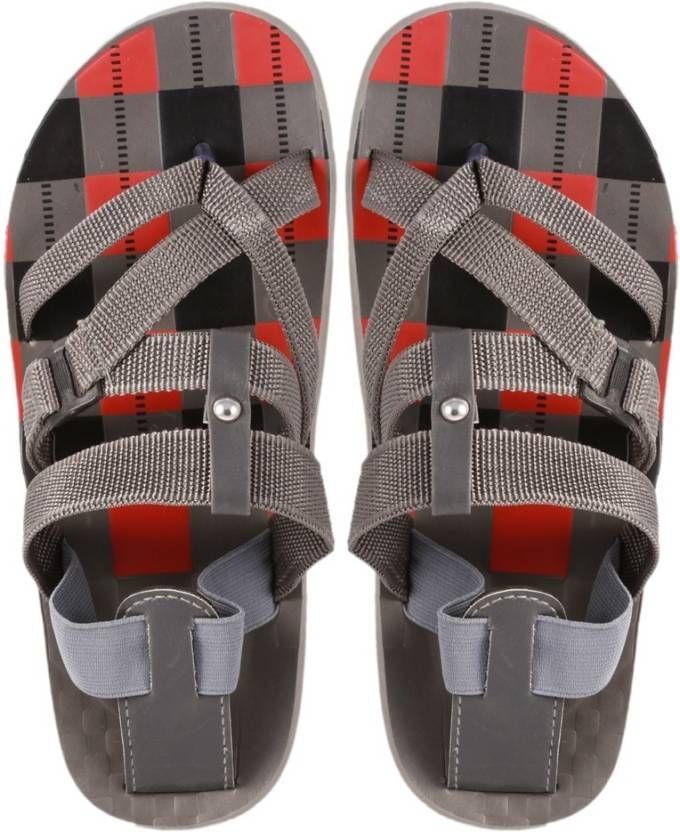 Stylos Men Grey Sandals | Buy Stylos