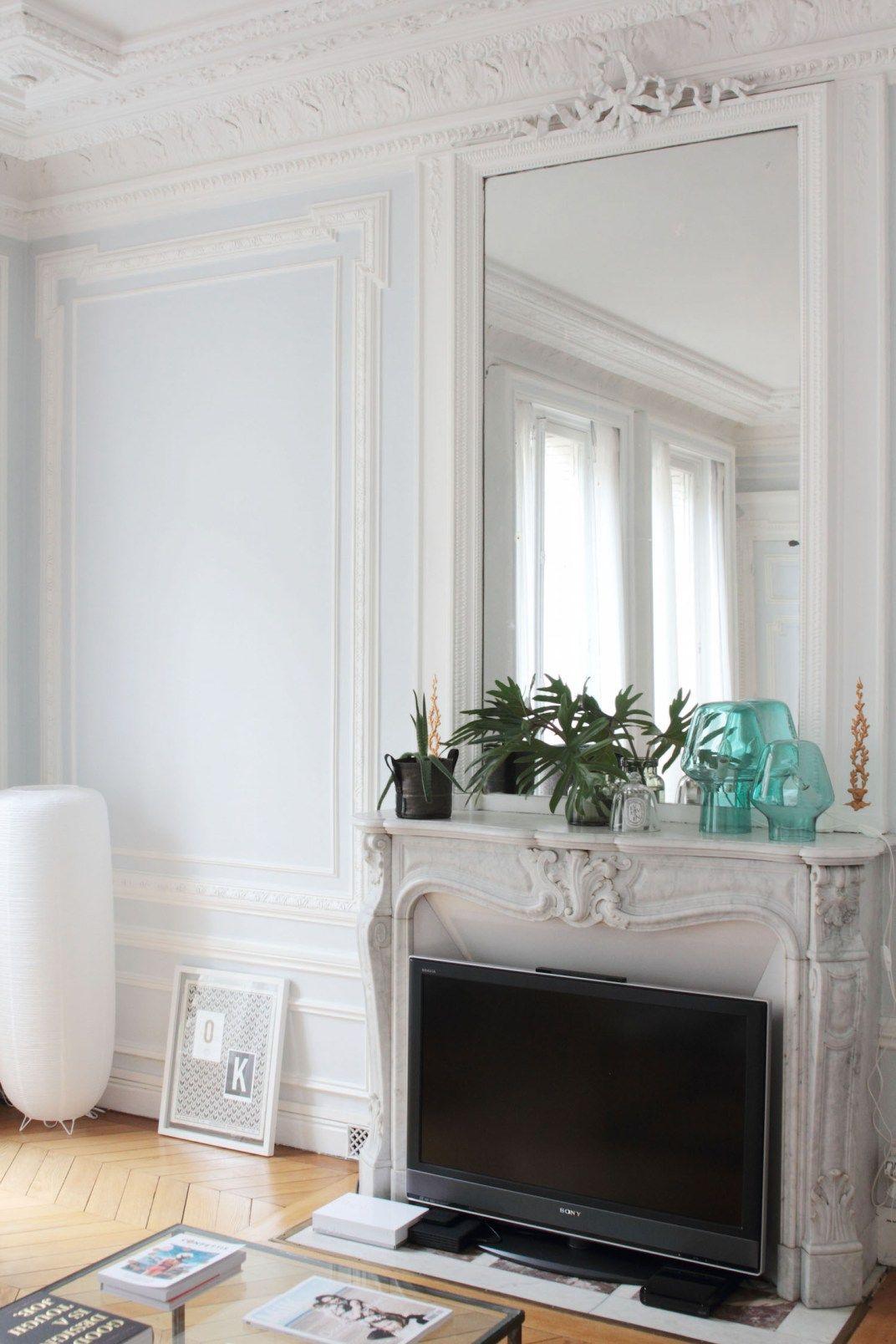 L Interieur Parisien Chic Et Creatif De La Blogueuse Vanessa