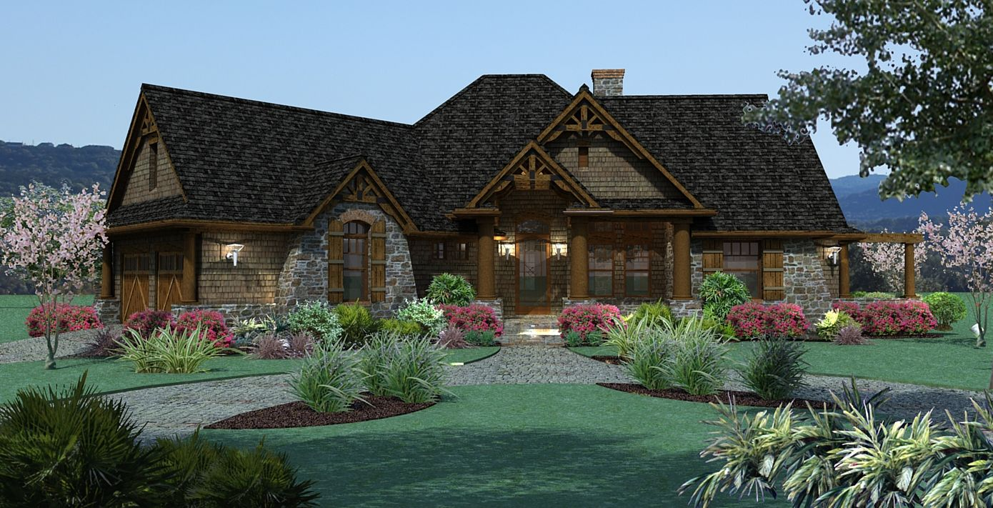 Vita Encantata Captivating Country Style House Plan 1897