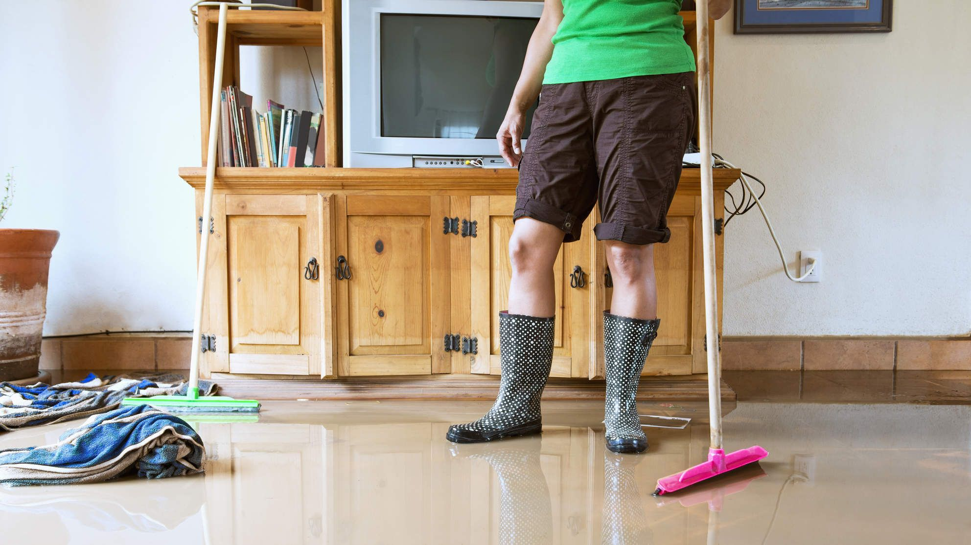 How to Tell If There's Mold in Your House Flooded house