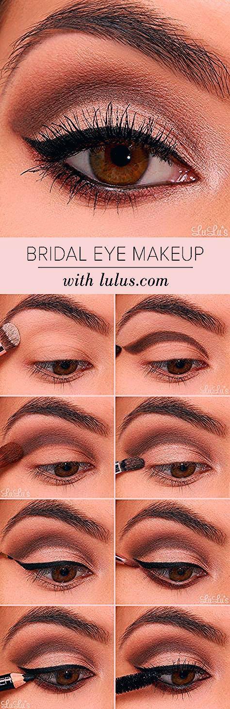 Lulus How-To: Bridal Eye Makeup Tutorial - Lulus.com Fashion Blog