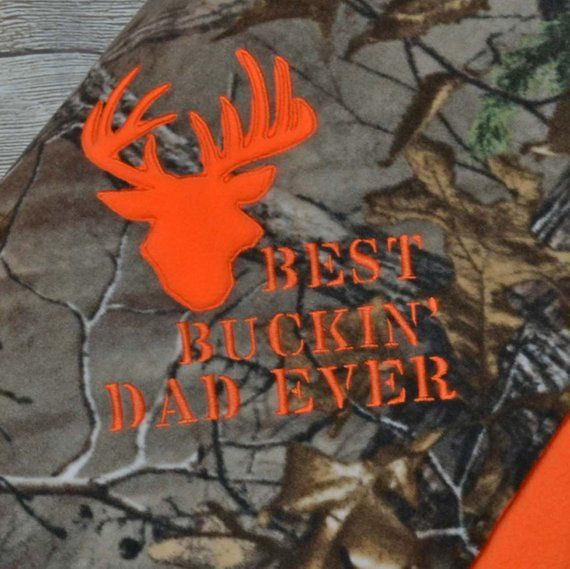 699c8de4 Best Buckin Dad Blanket Camo Father S Day Gift. Best Buckin Dad Ever T  Shirt Fathers Day Deer Hunters