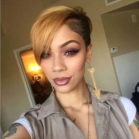 100+ Best Short Pixie Cut Hairstyles For Black Wom