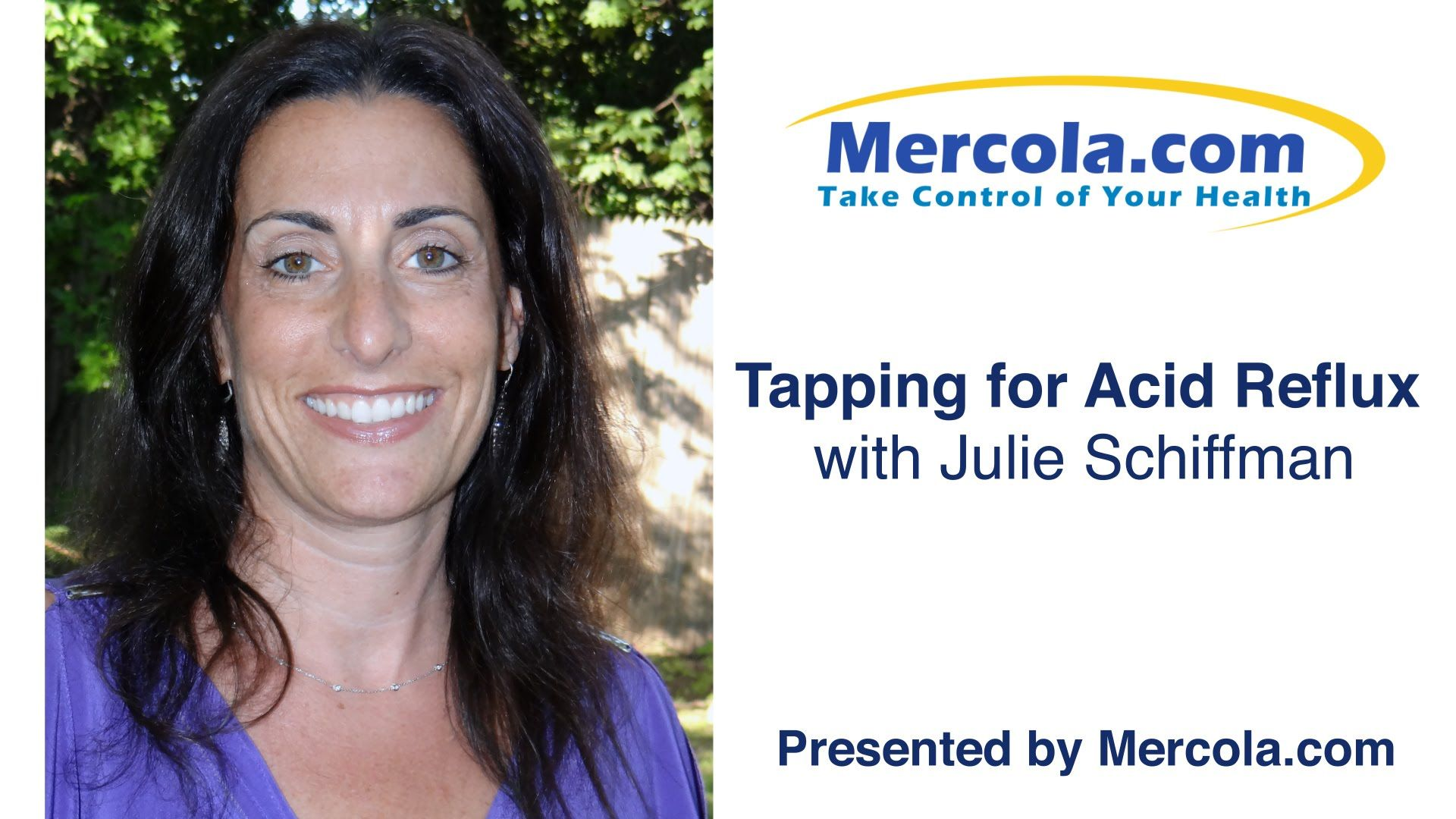 Tapping for Acid Reflux with Julie Schiffman