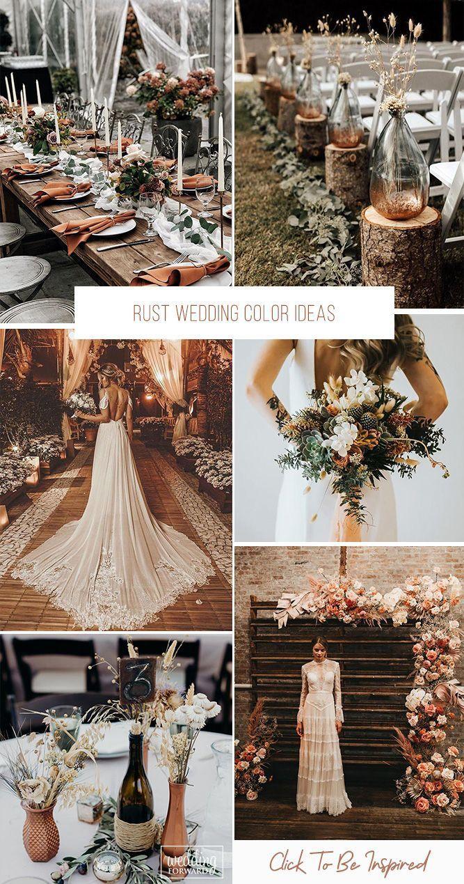 Photo of 30 Rust Wedding Color Ideas | Wedding Forward