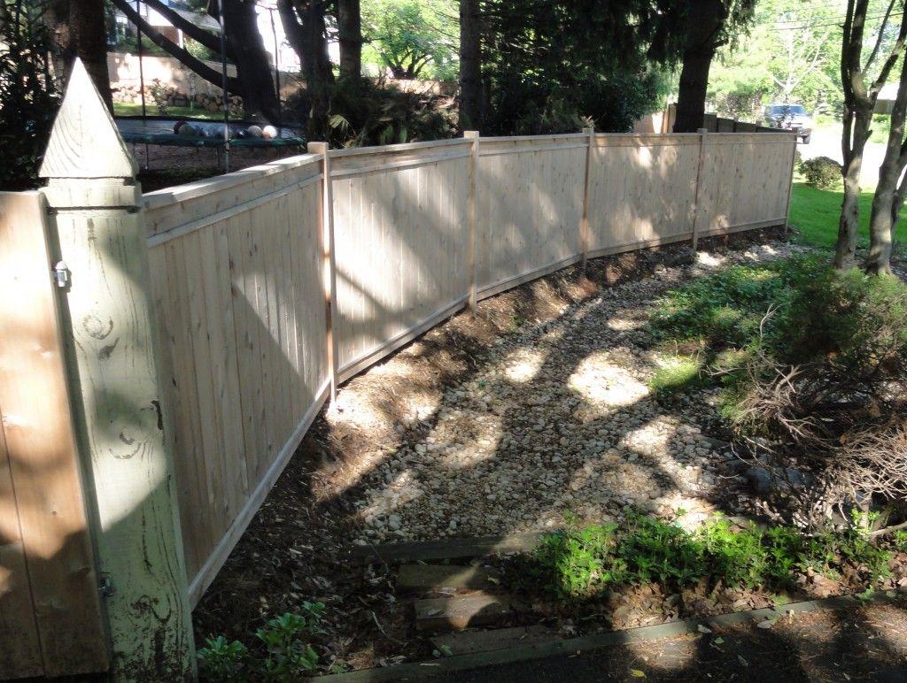 How To Build A Fence Diy Custom Cedar Privacy Fence In 2020 Building A Fence Fence Privacy Fence