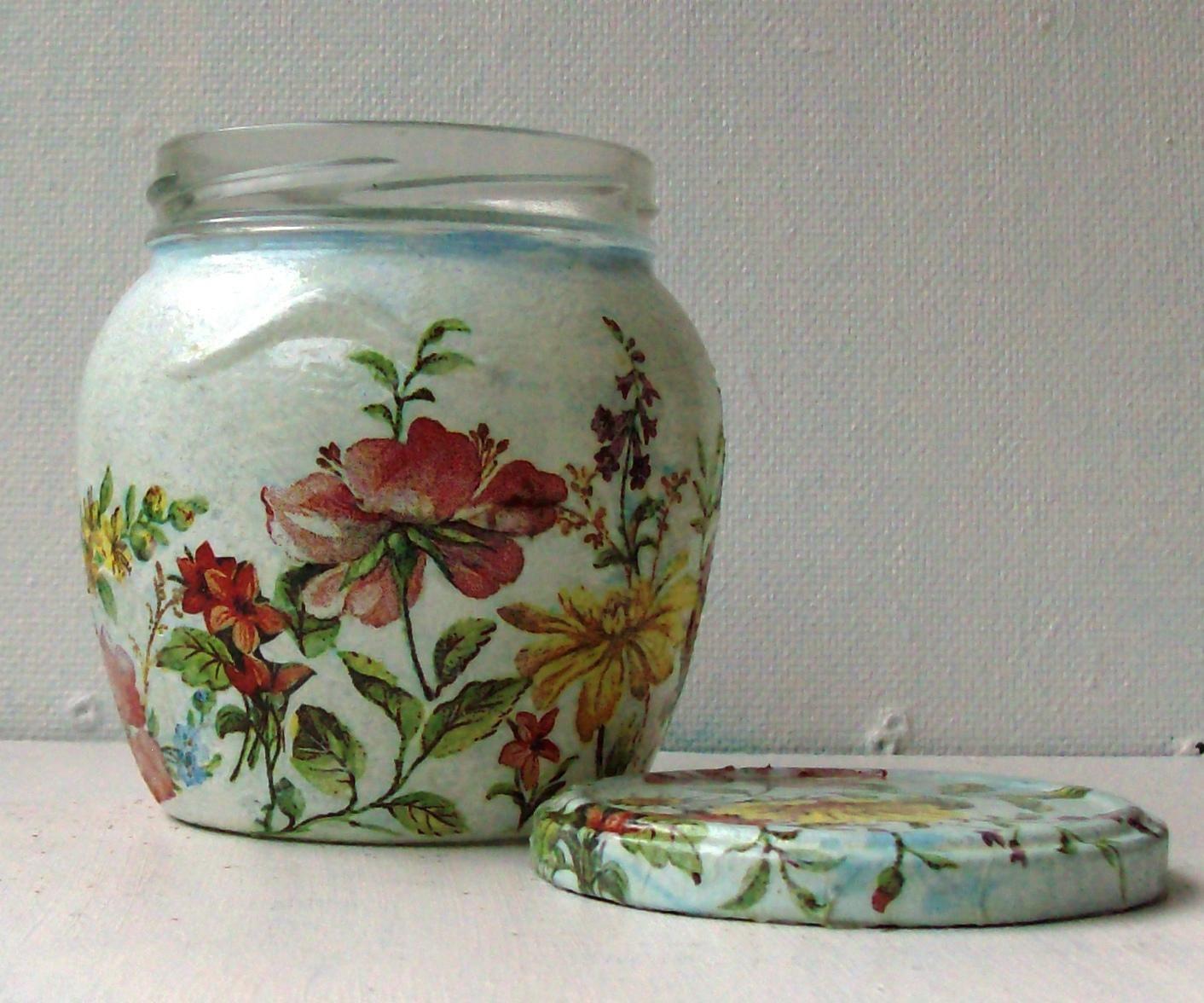 Decorative Jars Фотоальбом Бутылочки Баночки И Всё Что Можногруппы Декупаж В