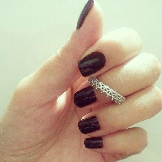Burgundy nail, yeah or nay?
