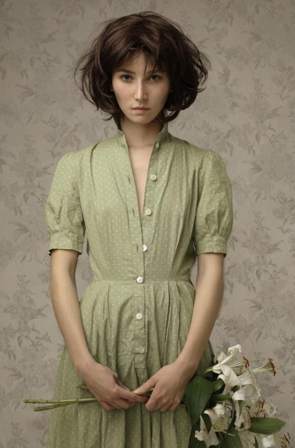 Louis Treserras6 Hyper realistic women portraits by Louis Treserras