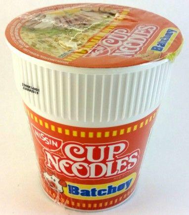 Nissin Cup Noodles Batchoy