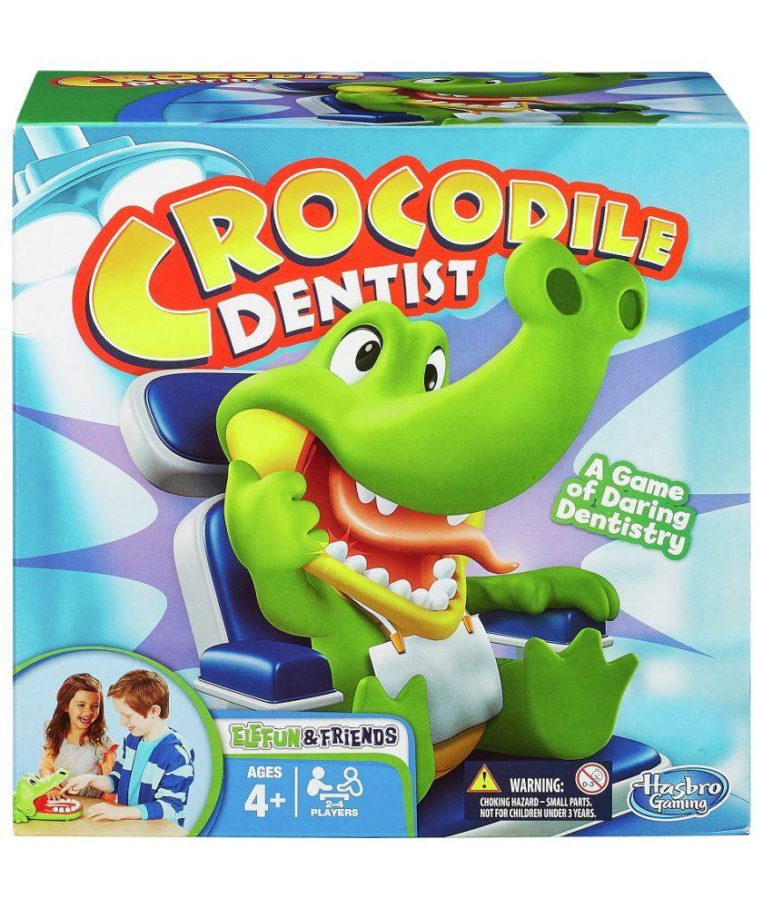 Buy Elefun Friends Crocodile Dentist Game From Hasbro