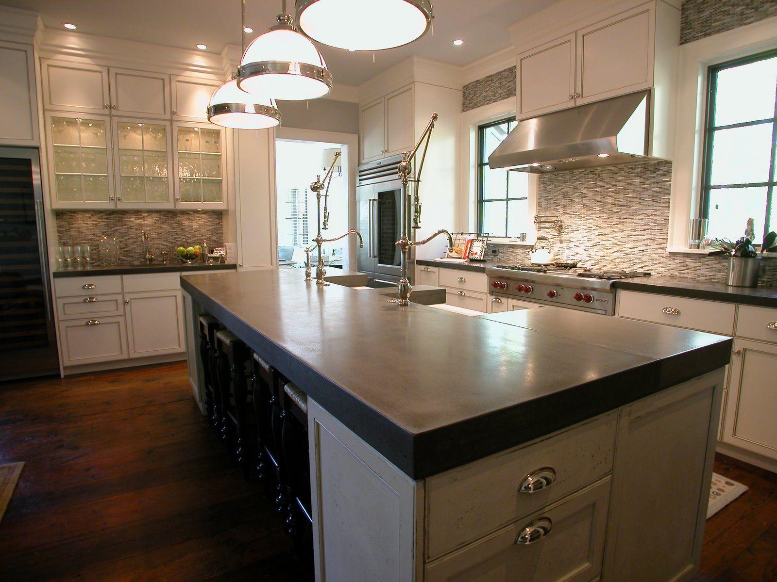 Kitchen Countertops Installation Cost: Concrete Countertops Do It Yourself
