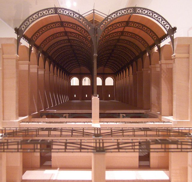 Henri Labrouste: Structure Brought to Light by archidose, via Flickr