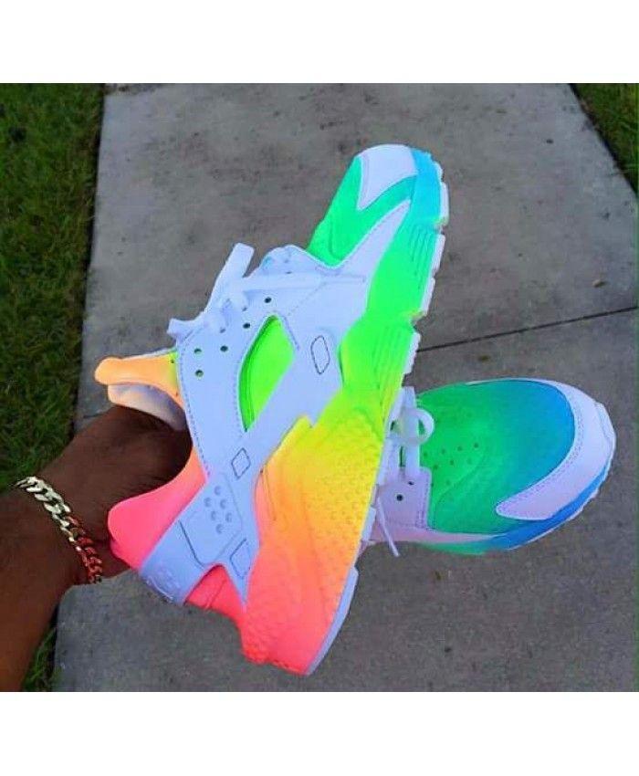 nike air huarache rainbow