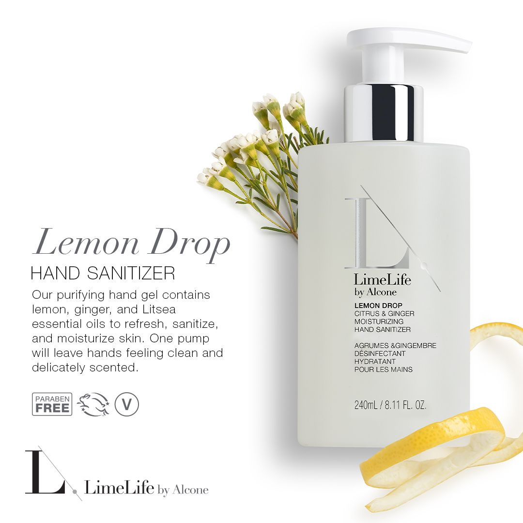 New Lemon Drop Hand Sanitizer From Limelife Pure Lemondrop
