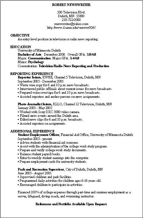 Sample Resume With Volunteer Experience Cover Letter Social Work
